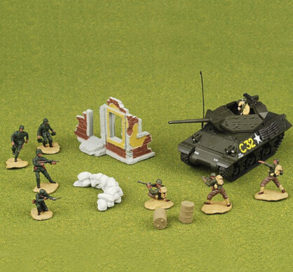 FOV 85078 1:72 WWII expellees US M10 tank soldiers battle scenes Set FM(China (Mainland))