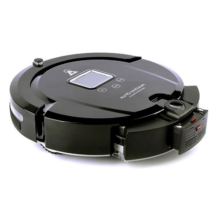 Auto Vacuum Cleaner Robot Aspiradora (Anti Collision Anti Fall,LCD Screen,HEPA Filter,Auto Clean) Home Cleaning Appliances a320(China (Mainland))