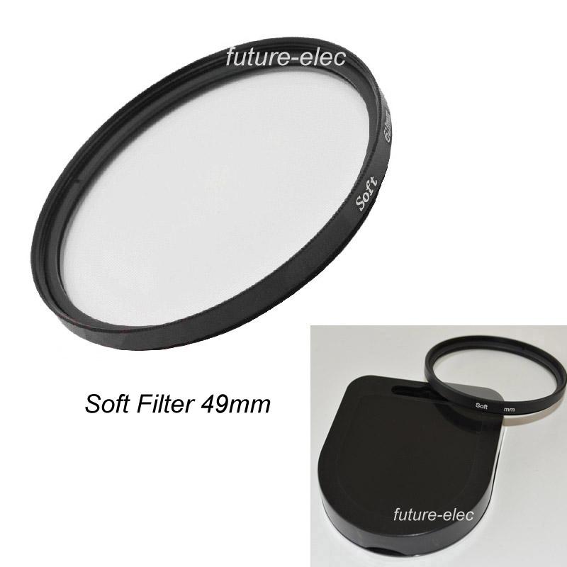 49mm 49 mm Circular Haze Soft Filter SF Focus Diffuser Effect Camera Lens Filters For Canon Nikon Samsung Panasonic Fuji Lenses(China (Mainland))