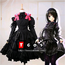 Date A Live Costumes DATE A LIVE Yoshino Dress Cosplay Costume