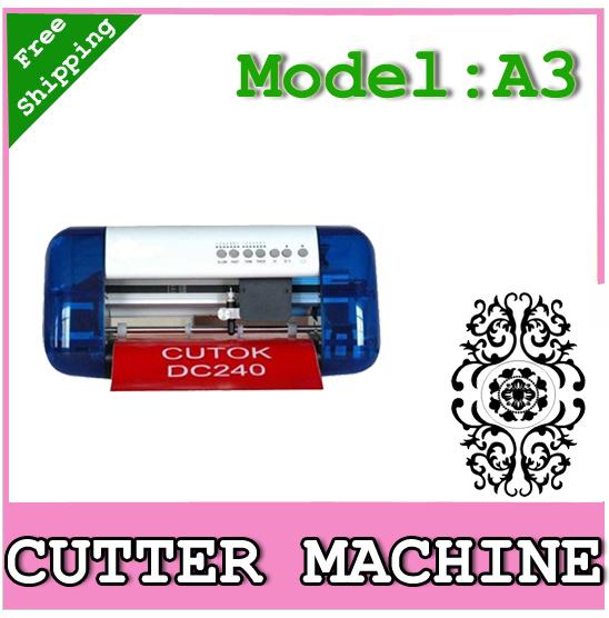 A3 size Cutting plotter,laser plotter,cutting Plotter, carving machine free ship(China (Mainland))