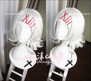 [Tokyo Ghoul] Suzuya Jyuzo Silver White 40cm Anime Hair Cosplay Wig