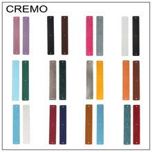 Cremo Giraffe Bangles Dainty Bracelets Argent Femme Manchette Cuff Stainless Steel Bracelet Reversible Interchangeable Pulseiras(China)
