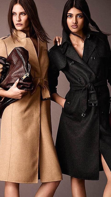 Brand  Women Slim X-Long Coat With Belt Long Sleeves Fashion Trench 8826