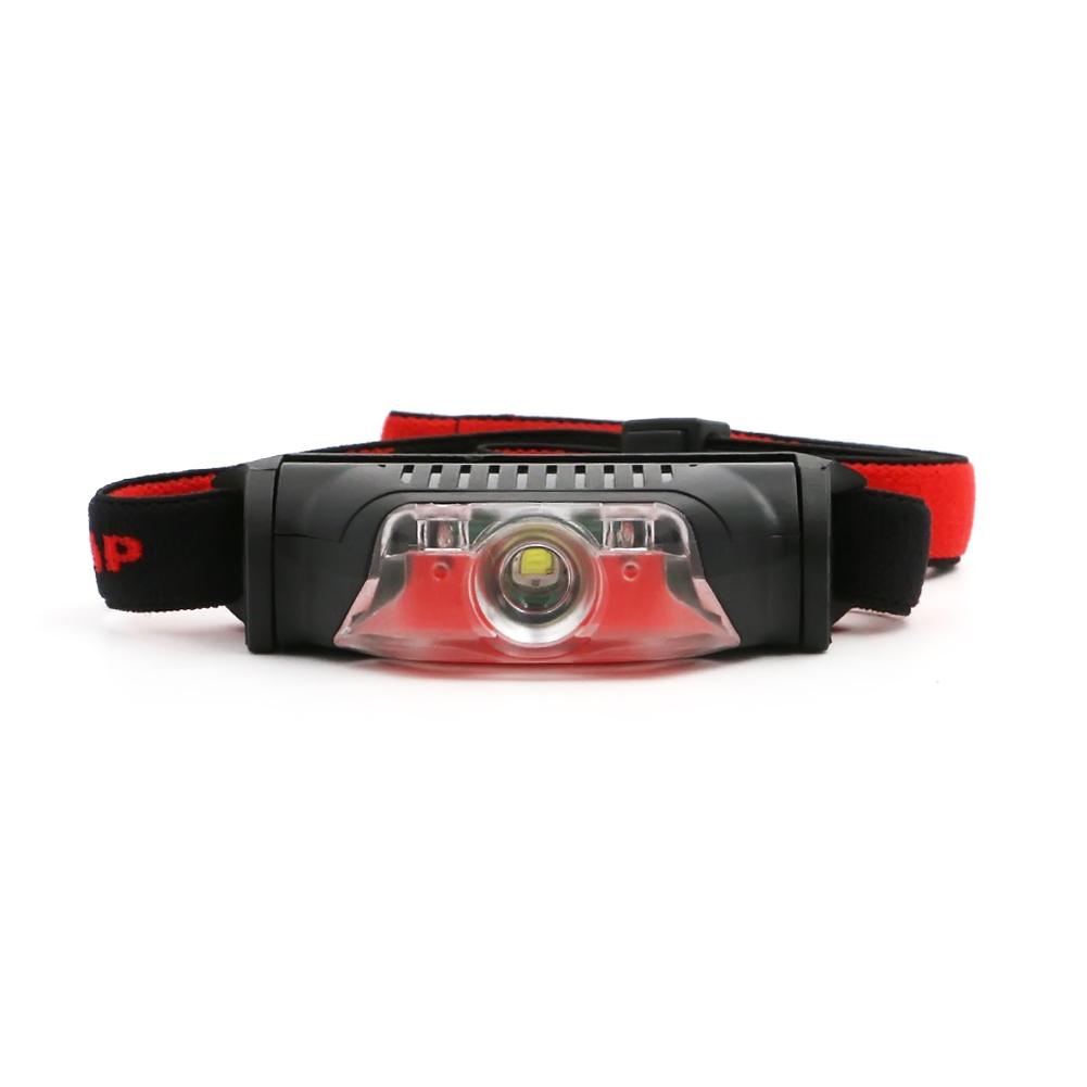 Waterproof LED Headlight 4 modes 1*XPE+2LED  LED Headlamp light head torch lantern by use 1*AA batteries