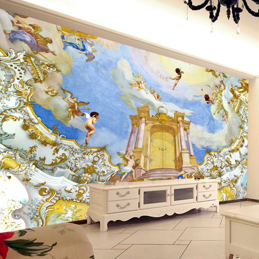 popular angel wall murals buy cheap angel wall murals lots