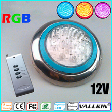 Underwater LED Pool Light RGB LED Swimming Pool Lights Lamp with Remote Control 12V IP68 LED VALLKIN LIGHTING
