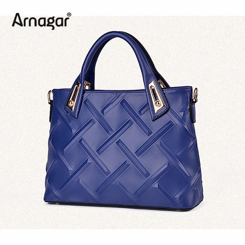 Trend  Women leather Handbags High Quality 3D Geometric Pattern Shoulder Bags Ladies blue beige black Diamond Lattice bag bolsos<br><br>Aliexpress