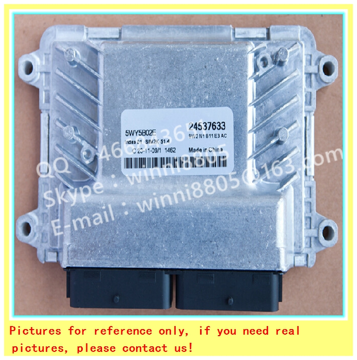 Фотография For Wuling Rongguang car engine computer board/ECU/ Electronic Control Unit/Car PC/5WY5B02E 24537633 /Trip computer