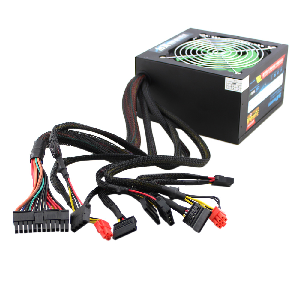 350W ATX Gaming Power Supply PSU 12cm Temperature Control Fan Silent for PC Computer(China (Mainland))