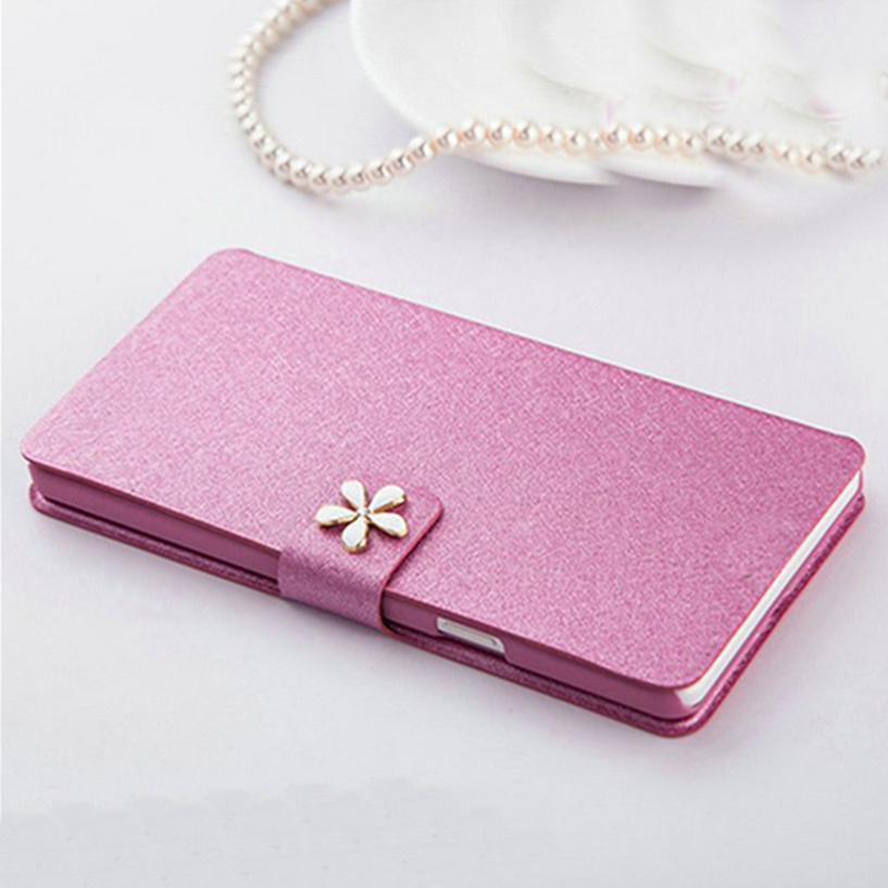 Top Quality Leather Wallet Stander Style Phone Case For LG