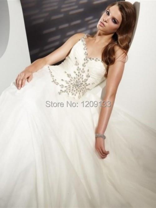 Официальный женщины платье вечерние платья трапециевидный роскошь вышивка бисером сердечком один плечо белый платье для ну вечеринку над vestidos noche
