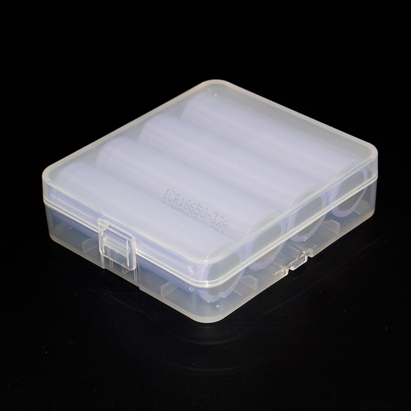 18650 Battery Storage Box Case 18650 Battery Holder Case Box for 18650 Battery with Hook Holder