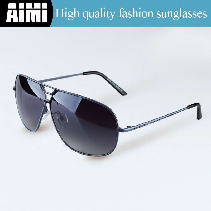 2015 Hot Sale Men Sunglasses Fashion Brand Designer Pop Sun Glasses Alloy Frame Glasses Cool Male