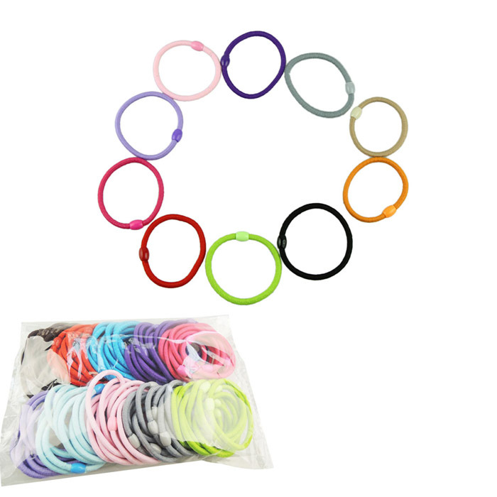 Delicate Baby Girl Children Elastic Hair Band Accessory Black Plus Velvet Hair Rope Headband Mix Candy Color(China (Mainland))