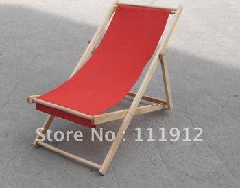 wood folding beach chair,hardwood leisure chair