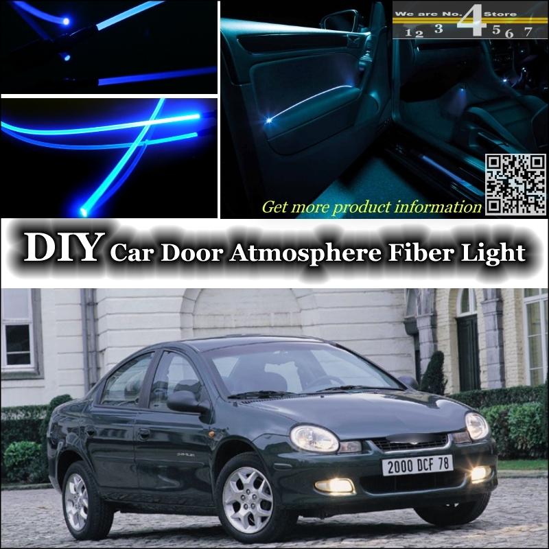 interior Ambient Light Tuning Atmosphere Fiber Optic Band Lights For Chrysler Neon Inside Door Panel illumination (Not EL light)(China (Mainland))