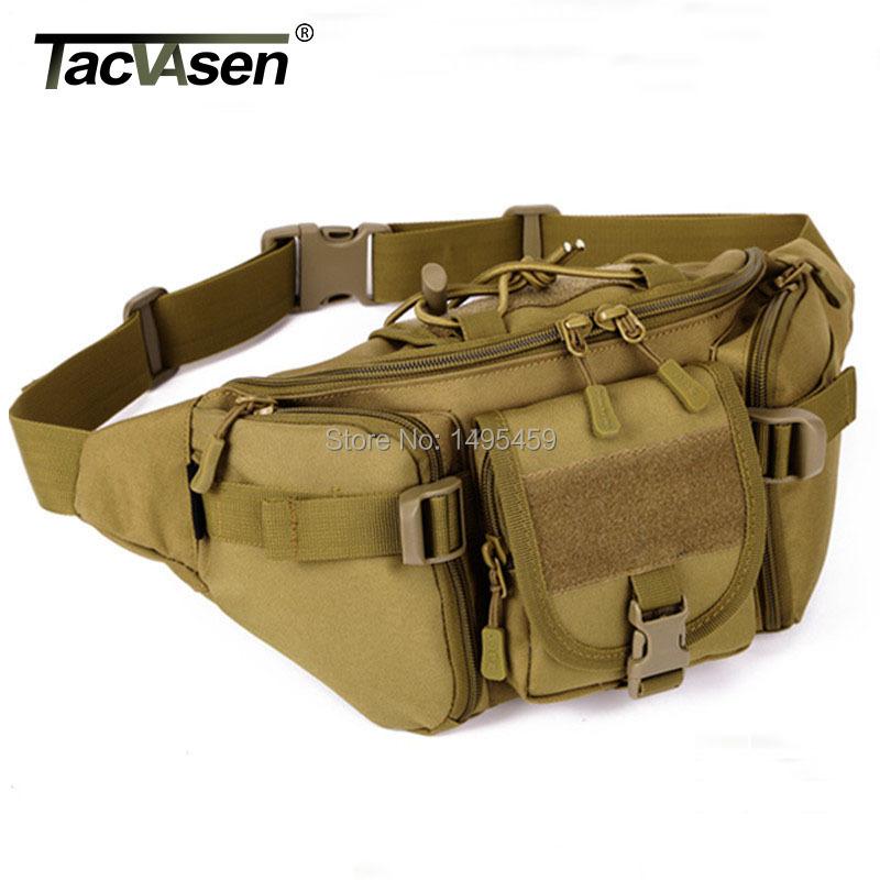 2016 Outdoor Molle Military Men Tactical Waist Pack Bags Waterproof Waist Bag Fanny BELT Climbing Bum bag Military Equipment(China (Mainland))