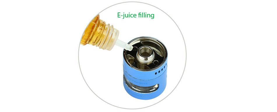ถูก Joyetech CUBISโปรมินิเครื่องฉีดน้ำบุหรี่อิเล็กทรอนิกส์2มิลลิลิตรความจุถังสำหรับJoyetech eVicพื้นฐานกล่องสมัยVapeไหลเวียนของอากาศที่สามารถปรับ