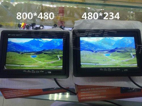FPV ground station    7    inch    TFT       LCD    Color    Monitor    Video