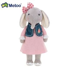 08# New Genuine METOO Series Vitality Lucky Elephant Doll Girl Plush Toy Genuine Personalized Birthday Gifts Christmas 30cm 1pcs