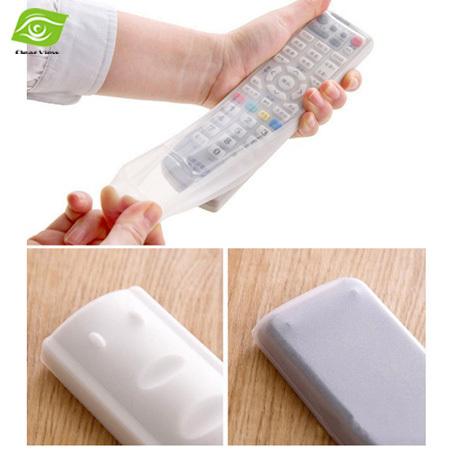Silicone TV Remote Control Protective Bag Air Condition Remote Control Case Dust Protective Holder Waterproof Storage Bag(China (Mainland))
