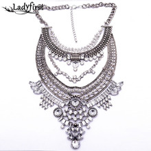 Buy 2015 Newest Maxi Big Brand Vintage Big Metal Accessories Statement Bead Alloy Necklaces & Pendants Collar Choker Necklace B3316 for $5.09 in AliExpress store