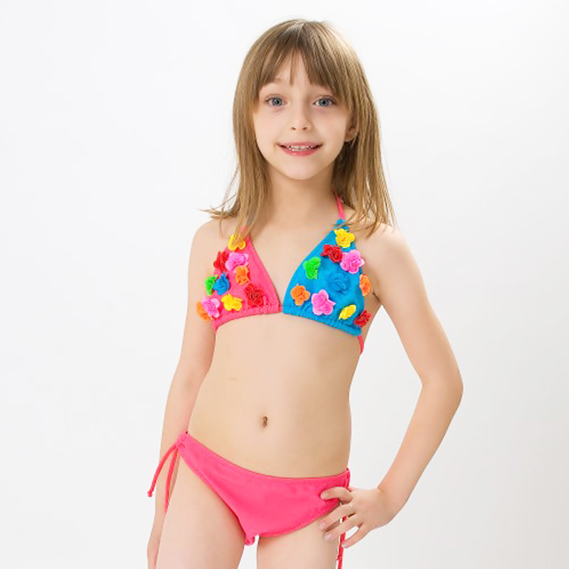 Tween Girl Swimwear Two Piece Bikinis Photo Sexy Girls