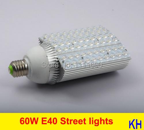 new 110V FREE SHIPPING DHL AC 85-265V 60W E27 E40 LED Street lights LED Street lamp Road lamp patio lights Warm white/Cool white(China (Mainland))