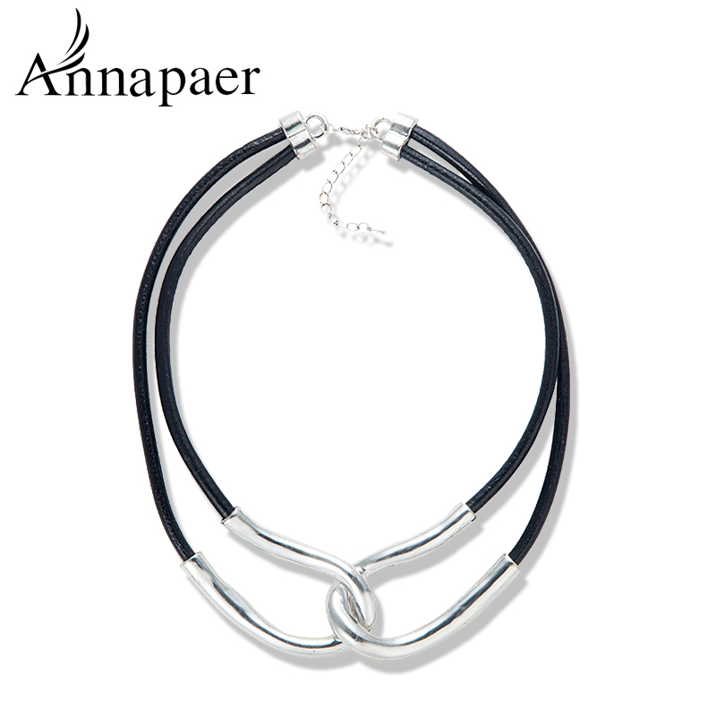 Vintage Jewelry Alloy Chunky Choker Collar Necklace 2015 Women Fashion Statement & pendants Designer - ANNAPAER Online Store store