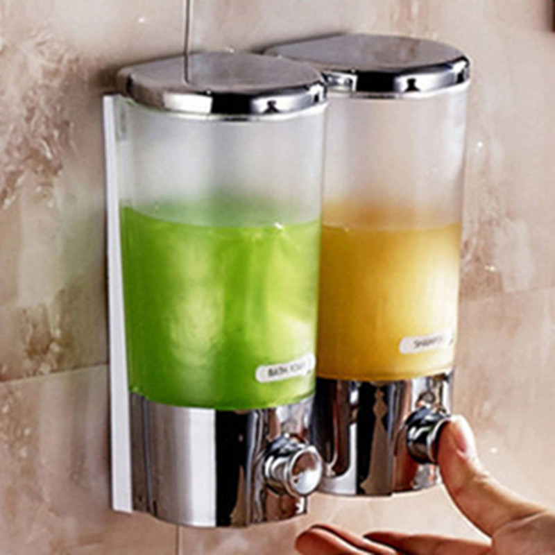 Shower dispenser promotion shop for promotional shower for Distributeur savon liquide mural inox