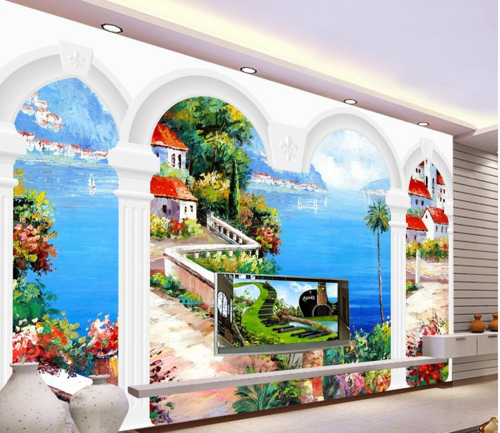 Popular wall murals nature buy cheap wall murals nature for Cheap wallpaper mural