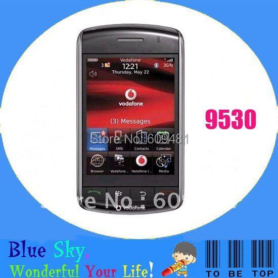original refurbished blackberry phone storm 9530 touch phone unlocked