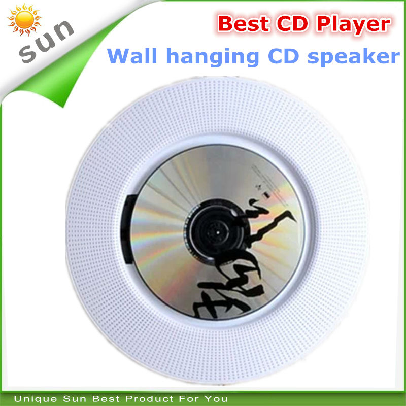 electronic new 2017 cd player multi-function portable cd player wall hanging dj cd player with FM radio function DHL shipping