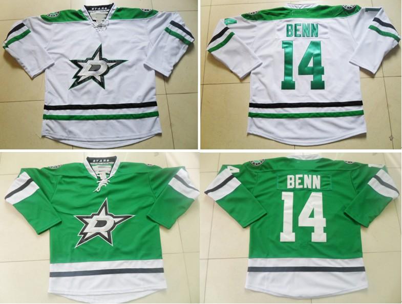 #14 Jamie Benn,Dallas Stars Authentic Ice Hockey Jerseys C Patch,New Style Stitched Cheap Jersey ,Embroidery logos,Free Shipping(China (Mainland))