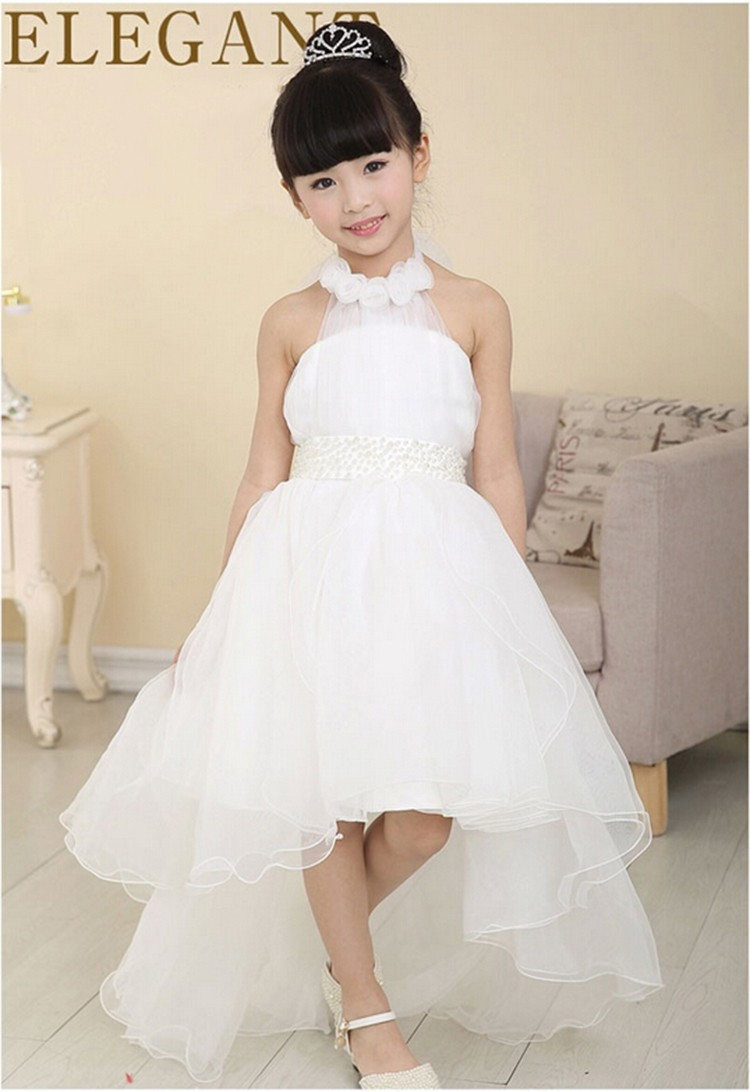 2016 Summer Princess Wedding Bridesmaid Flower Girl Dress