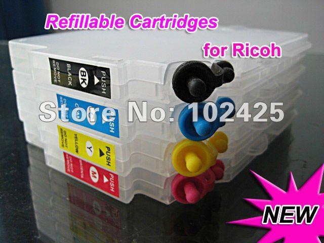 80ML ink Cartridges for Ricoh GC21 For Ricoh Gels printer GX7000 GX5000 GX3000SF GX3000S GX2500(China (Mainland))