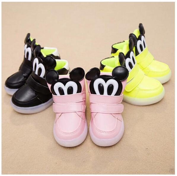 nouveau produit variété de dessins et de couleurs choisissez le dégagement chaussure bebe minnie mouse