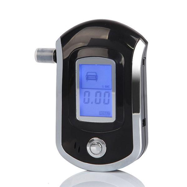 CE Rohs NEW Hot selling fashion Professional Mini Police Digital LCD Breath Alcohol Tester Breathalyzer AT6000(China (Mainland))