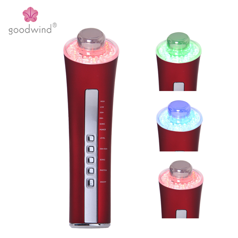 Goodwind CM-5-2 5 IN 1 Home use Health & Beauty product anti-aging skin care facial massager Beauty salon products ISO13485