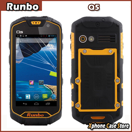 """Runbo Q5 32GBROM 2GBRAM Waterproof Dustproof Shockproof Phone 4.5"""" 3G Android 4.2 MTK6589T Quad Core 1.5GHz WCDMA & GSM Dual SIM(China (Mainland))"""