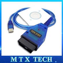 Newest VAG COM VAG 409.1 KKL Vag-Com USB port diagnostic tool cable  vagcom vag409.1 for Audi VW Seat Skoda(China (Mainland))