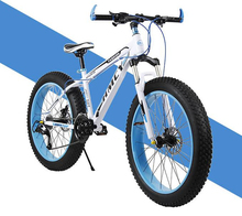 Snowmobile Ultra wide mountain bike 26 inch 4.0 disc brake large tyre bicycle Students bike Artificial mechanical design/tb40905(China (Mainland))