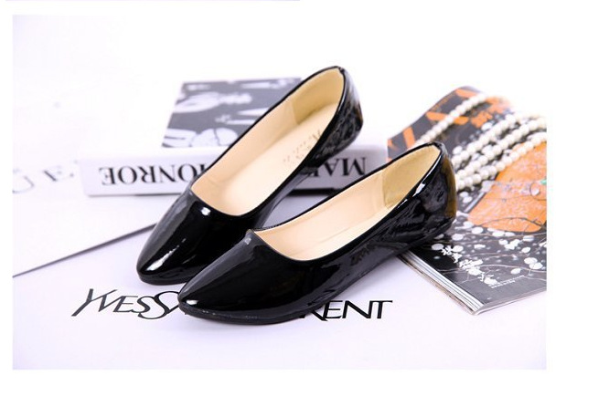 fashion2015 shoes wholesale decorative plating round head flat shoes comfortable shoes plus size women flats,Free shipping