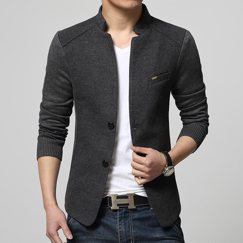 2015 New Arrival Jacket Patchwork Fashion Denim Red Blazer Men Suit Cardigan Slim Fit Blaser Masculino Jaqueta Masculina BlazersОдежда и ак�е��уары<br><br><br>Aliexpress