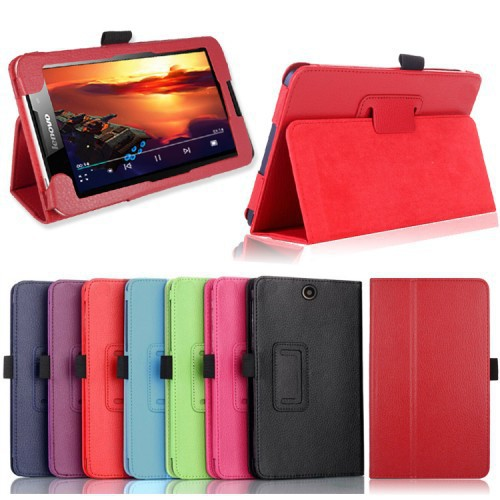 Гаджет  High quality Lenovo A3500 case Lichee leather case for lenovo 3500 A7-50 tablet PC flip cover cases free shipping None Компьютер & сеть