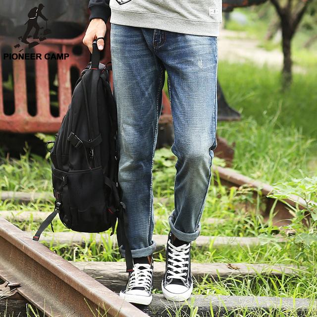 Пионерский Лагерь. Бесплатная доставка! летний стиль 2016 новая мода мужские джинсы ...