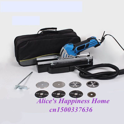 electric mini circular saw 750W mini power saw power tools for wood mini power tools with 8 pcs accessores for machine
