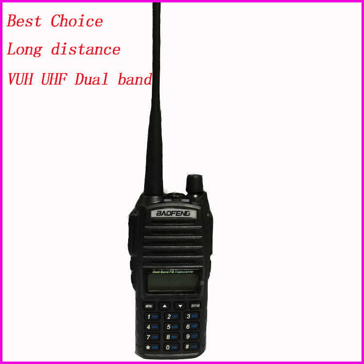 PTT Baofeng 82 uv Professional 10km Walkie Talkie Vox For CB Ham Portable Radio Station Handy radio amateur uv82 baofeng uv-82(China (Mainland))