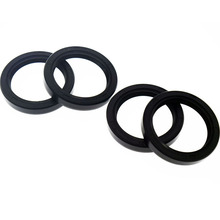 2 pair Motorcycle Front Fork Damper oil seal For BMW R1100GS Shock absorber Motorbike High quality rubber(China (Mainland))